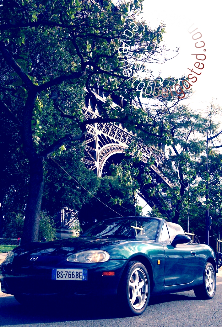 Miata in Paris