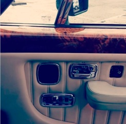 bentley turbo r door