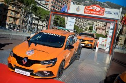 2018 - Keys delivery of Renault MEGANE R.S. to Automobile Club de Monaco