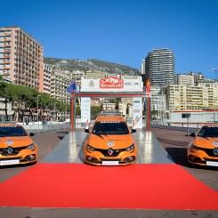 2018 - Keys delivery of Renault MEGANE R.S. to Automobile Club de Monaco