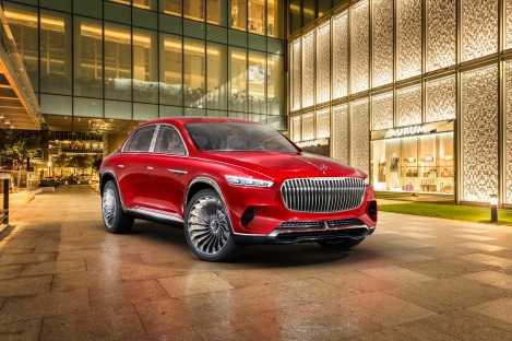 Weltpremiere Vision Mercedes-Maybach Ultimate Luxury: Exklusives Reisen auf höchstem Niveau World premiere of Vision Mercedes-Maybach Ultimate Luxury: Exclusive motoring at the highest level